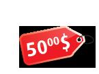 50.00$