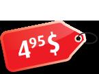 4.95$